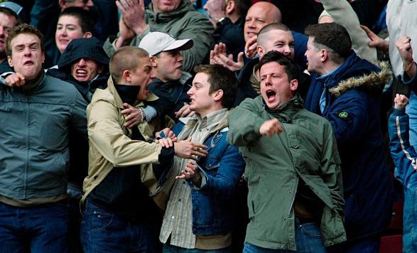 Elijah Wood Films 'Hooligans' in England
